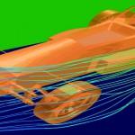 F1 streamlines